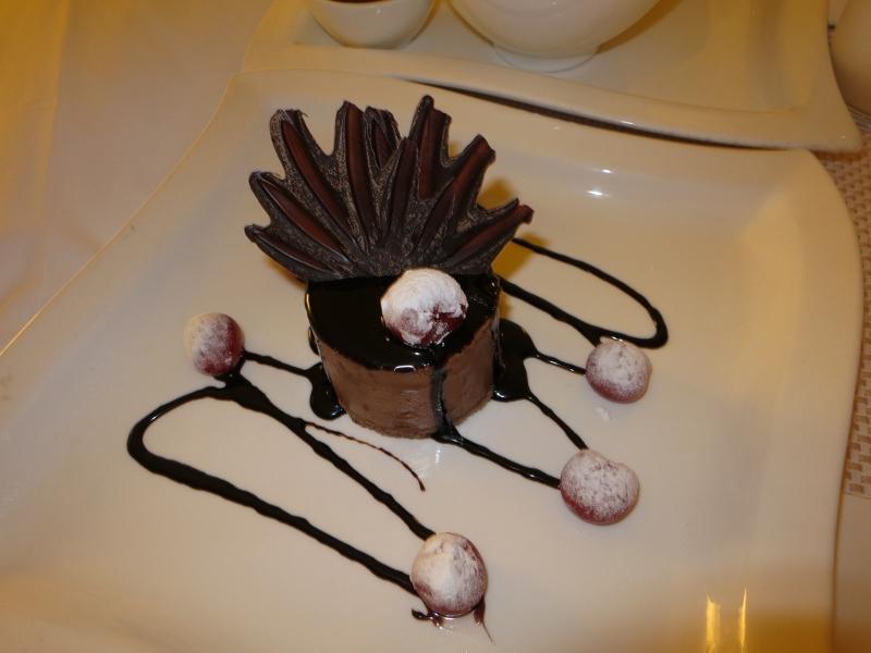 Rasberry Chocolate Mousse